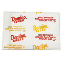 DOMINO Sugar Portion Packets 0.1 oz Packets 2000/Carton 845354