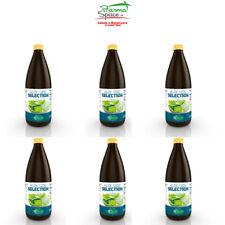 Succo Puro Aloe Vera 1 Litro Bio 100% Sangalli - 6 Confezioni in Vetro Biologico