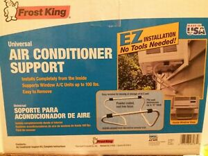 Frost King Universal AC Air Conditioner Support ACBNT2 - up to 100lbs - NEW