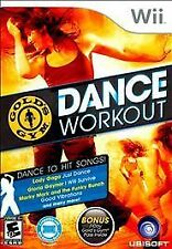 Gold's Gym Dance Workout WII NEW! LADY GAGA JUST DANCE, ZUMBA, BIGGEST LOSER FUN