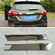 New Stainless Steel Trunk Lid Moulding Trim for Chevrolet Equinox 2018 2019