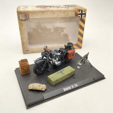 1/24 BMW R75 World War II 1939-1945 Black Motorcycle Diecast Model Collection