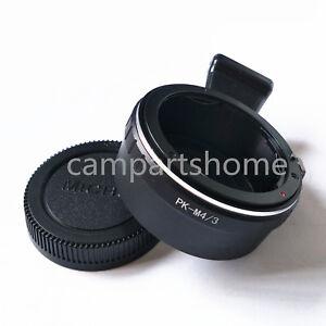 Tripod Pentax K PK Lens to Micro 4/3 M4/3 EP2 EP3 EPL3 E-PM5 G1 G5 Adapter cap
