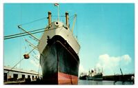 1960s Alabama State Docks, Mobile, AL Postcard *233