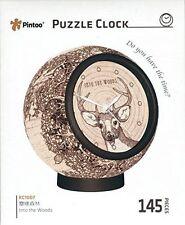 Pintoo puzzle reloj into the Woods -145 pieza 3D puzle rompecabezas Kc1007 -