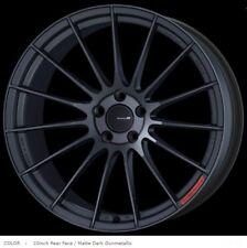 ENKEI RS05RR 10J/11J-20 +30/+15 5x114.3 black for GT-R set of 4 rims from JAPAN