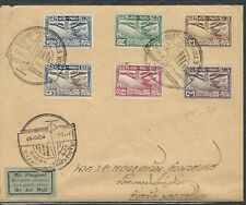 Thailand Stamps C1//8 Cover Air Mail 01NOV1925