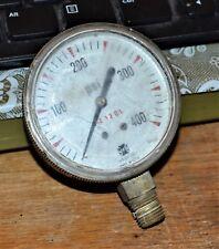 VTG U.S. Gauge Steampunk 400 PSI Made In U.S.A.