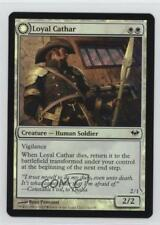 2012 Magic: The Gathering - Dark Ascension 13 Loyal Cathar / Unhallowed Card 2k3