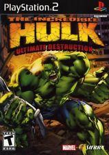 Incredible Hulk: Ultimate Destruction - Playstation 2 Game