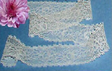 """Ivory Lace Trim Vintage 10 Yards x 1-1/4"""" CLOSEOUT E24V Added Trims ShipFree"""