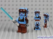 LEGO Star Wars - Aayla Secura Jedi Knight Minifigure 8098 Clone Turbo Tank