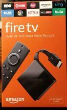 Amazon Fire TV Box 3rd Generation 4K Ultra HD & HDR w/ Alexa Voice Remote