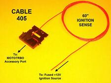 Cable 405 Ignition Sense Plug Motorola MOTOTRBO XPR4300 XPR4350 XPR4500 XPR4550