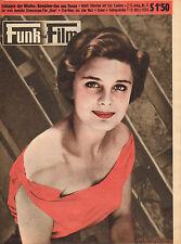 FUNK UND FILM 1955 nr. 11 - ROSANNA PODESTA / GRACE KELLY / VIRGINIA MAYO/OASE
