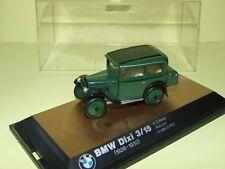 BMW DIXI 3/15 1928-1932 Vert & Noir SCHUCO