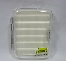 "Plano 3582 Foam Lined Clear 6"" X 4"" Fly Fishing Tackle Box"