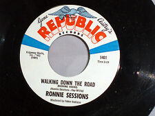 Ronnie Sessions: Walking Down the Road / My Daddy Was a....  [Unplayed Copy]