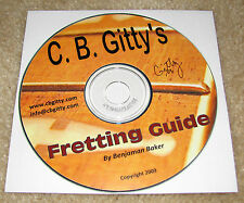 Fretting Guide on CD: Learn how to Fret/Refret a Guitar or other Instrument!