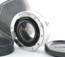 Minolta AF 1.4x Tele Converter APO lens Sony Alpha A mount [N Mint] Japan 825548