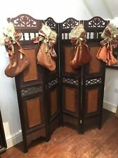 Ornate French Zaza Gaboor Style Room Divider/Dressing Screen