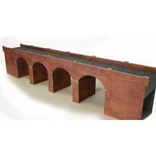 Doble Pista Rojo Ladrillo viaducto - OO/HO CARTA Kit – Metcalfe po240