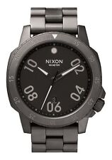 NEW NIXON RANGER Watch | ALL GUNMETAL Quartz Analog | A506 632 | Authentic 44mm