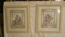 Homco home interior 'Daisy'picture set by Margie Whittington good condition,