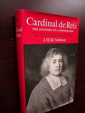 CARDINAL de RETZ Louis XIV French History by Salmon 1st Ed. 1970 VERY GOOD HC/DJ