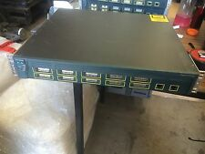 Cisco Systems Catalyst 3550 Switch  WS-C3550-1 No Dongles Included