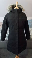 The North Face Black Arctic Parka Winter Coat, Size UK 10 / Small