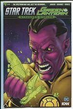 Star Trek/Green Lantern #1 - Rachael Stott Subscripti 00006000 On Cover - Idw/2016