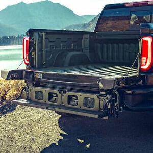 2020-21 GMC Sierra HD MultiPro Tailgate Kicker Speaker System GM OEM 19418459