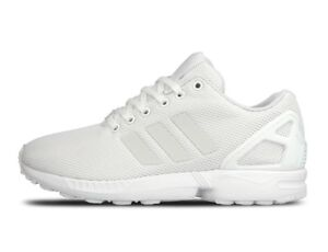 Adidas Men's ZX FLUX 3M White Athletic / Training / Casual Sneakers S79093