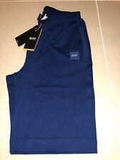 """Men Hugo Boss Cotton Short BNWT Blue Size Large 34/36""""Waist £39.99"""