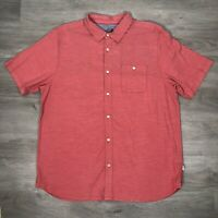The North Face Mens Shirt Size XL Outdoor Hiking Camping Red