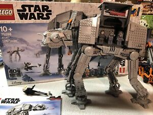 Lego Starwars /75288/ AT-AT/ Pre Owned W/3figures