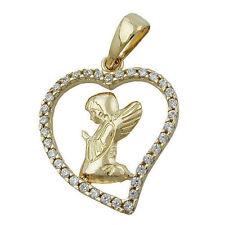 Markenlose Echtschmuck-Halsketten & -Anhänger mit Herz und Besondere Anlässe für Damen