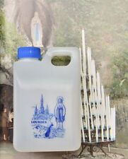 Lourdes Holy Water in a Large Apparition Container 0.5 Liters or 0.132 gal.