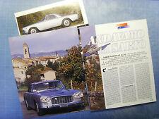 AUTO997-RITAGLIO/CLIPPING/NEWS-1997-LANCIA FLAMINIA GT 3C 2.8- 3 fogli