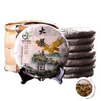 357g Pu-erh Tea Cake Raw Puerh Tea Puer Dazhanhongtu Aged Pu'er Trees Green Tea