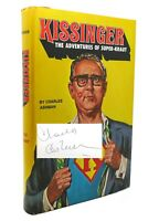 Charles R. Ashman KISSINGER: THE ADVENTURES OF SUPER-KRAUT Signed 1st 1st Editio