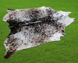 """100% New Cowhide Rugs Area Cow Skin Leather (54"""" x 56"""") Cow hide SA-7420"""
