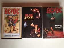 LOT K7 VIDEO VHS SPECIAL AC DC