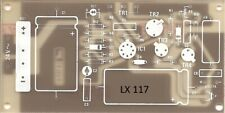 C.S. lx117 New Electronics Bench Power Supply 1,2 to 30v 2a (1123) LX 117