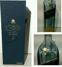 JOHNNIE WALKER blue LABEL EMPTY BOTTLE MAGNETIC box                        (A1)