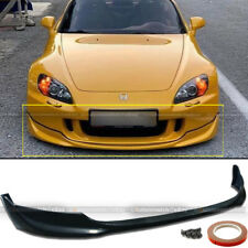 Fit 04-10 S2000 Ap2 Unpainted Urethane Oe Style Pu Front Bumper Lip Body Kit