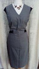 Next Tall Smart Grey Shift Dress Size 18