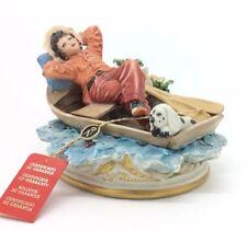 """Continental Porcelain Figurine Capodimonte Rori Italia Porcellana 18cm 7"""""""