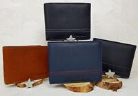 Geldbörse RFID-Schutz Portemonnaie Echt Leder Geldbeutel Herren Geschenk Box